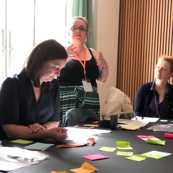 Anne Welsh running the Beginning Cataloguing workshop at the SLA Europe Conference 2019