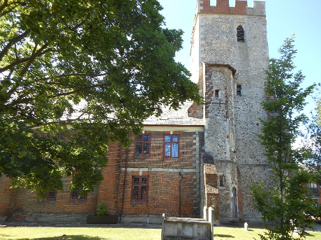 The Library building, St Peter's Churchyard, Maldon