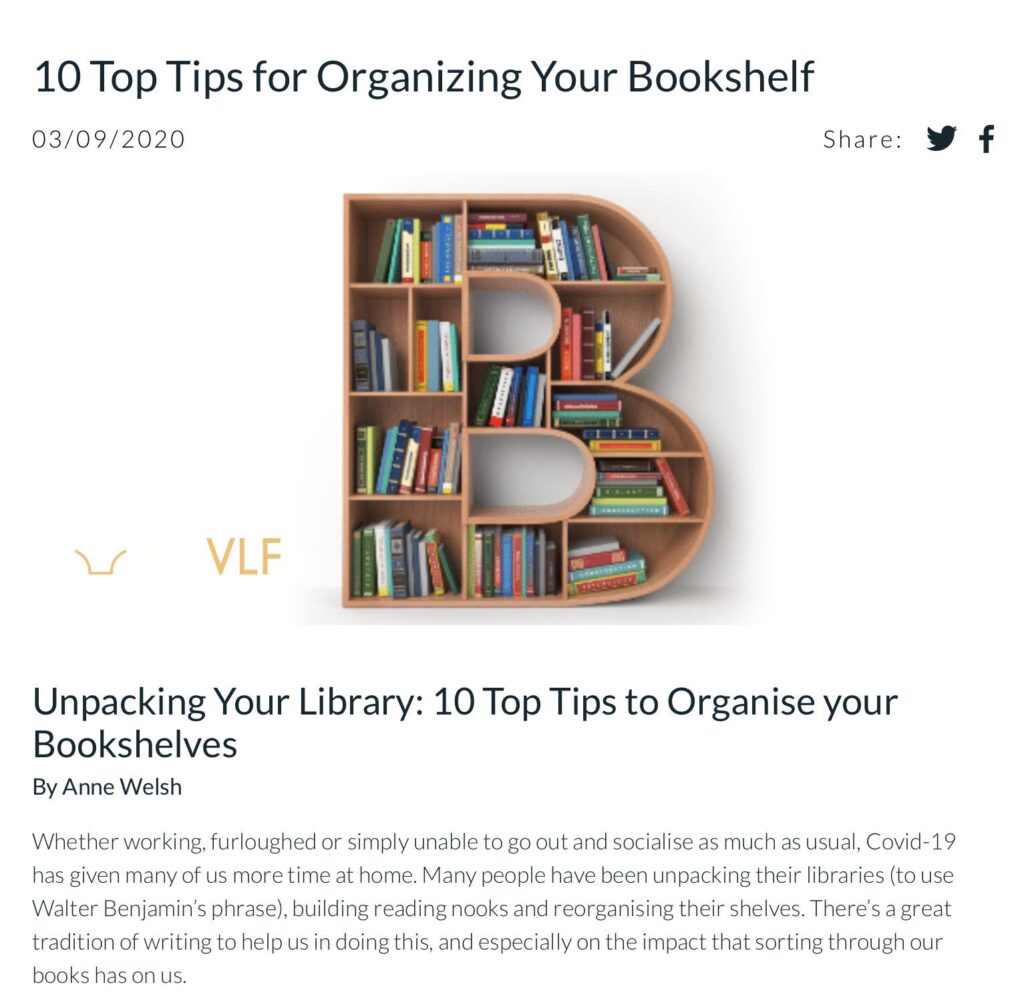 Unpacking Your Library