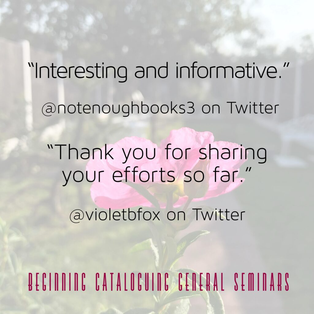 """Interesting and informative"" - @notenoughnotebooks3 on Twitter; ""Thank you for sharing your efforts so far"" - @violetbfox on Twitter"