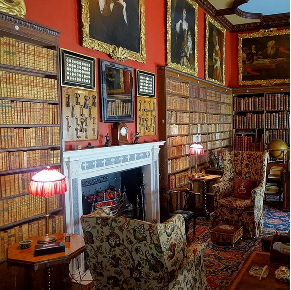 Kingston Lacy Library