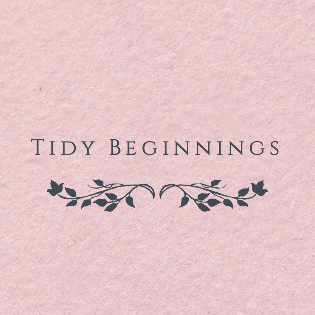 Tidy Beginnings logo