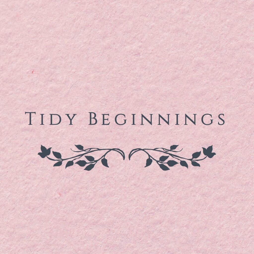 Tidy Beginnings logo
