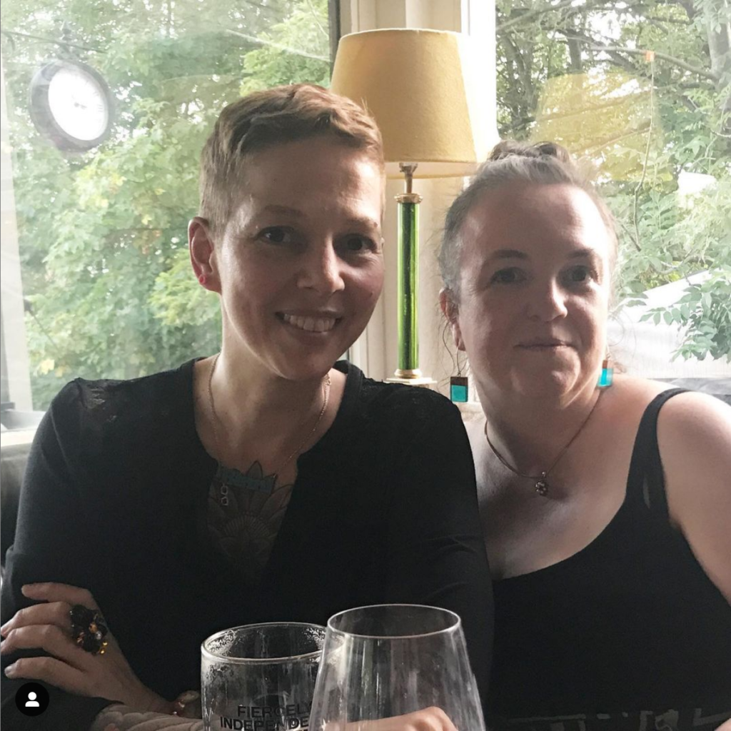 Binni and Anne at SLA Europe Conference 2019