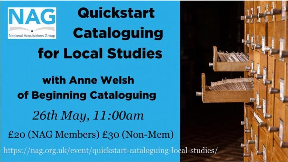 QuickStart Cataloguing for Local Studies